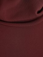 Joseph Sweater L/s High Neck W/slits - Maroon