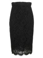 Dolce & Gabbana Pencil Skirt - Nero
