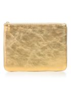 Comme des Garçons Wallet Wallet Large Gold And Silver - Gold