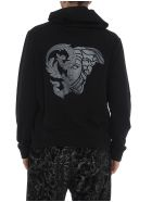 Versace Collection Back Logo Hoodie - Black