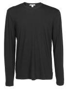 James Perse Long Sleeve Shirt - Black