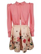 Elisabetta Franchi Celyn B. Elisabetta Franchi For Celyn B. Floral Print Dress - Pink