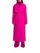 Jacquemus Sabe Fluo Pink Coat - Pink