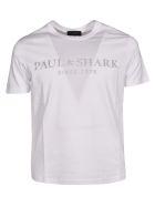 Paul&Shark Paul & Shark Logo Print T-shirt - White