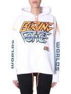 McQ Alexander McQueen Hooded Sweatshirt - BIANCO