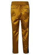 Ami Alexandre Mattiussi Elasticated Woven Trousers - Bronze