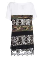 Antonio Marras Paneled T-shirt - Nero Marrone