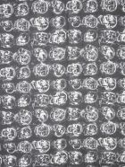 Alexander McQueen Skull Scarf - NERO