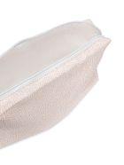 Borbonese Micro-printed Make-up Bag - Mandorla/ice