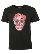 Alexander McQueen Printed T-shirt - Black/mix