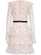 Philosophy di Lorenzo Serafini Grace Dress In Polka Dot Tulle - Pink