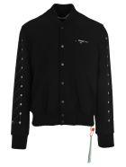 Off-White Off White Varsity Jacket - BLACK