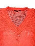 Roberto Collina cotton blend pullover - Rosso