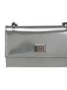 Jimmy Choo Leni Clutch - Silver