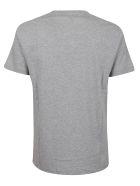Alexander McQueen Fern Emb T-shirt - Pale Grey Mix