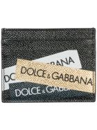 Dolce & Gabbana  Genuine Leather Credit Card Case Holder Wallet - Basic