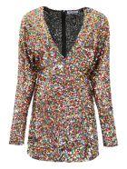 The Attico Multicolor Sequins Mini Dress - Multicolore