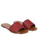 Bottega Veneta Braided Flat Sandals - Multicolor