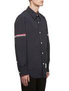 Thom Browne Striped Armband Shirt - Blu rosso bianco
