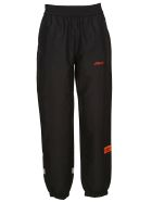 HERON PRESTON Logo Track Pants - Black