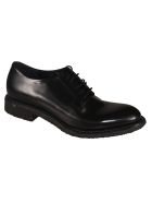 Roberto del Carlo Classic Lace-up Combat Boots - Black