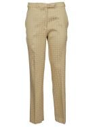 Etro Geometric Pattern Trousers - Gold