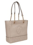 Tory Burch Fleming Tote - Light Taupe