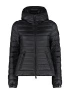 Moncler Bles Hooded Down Jacket - black