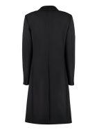 Alberta Ferretti Double-breasted Wool Coat - black