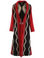 Jessie Western Dragonfly Coat - MULTICOLOR (Red)