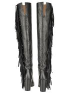 Laurence Dacade Laurence Dacade Sybelle Knee-lenght Fringe Boots - BLACK