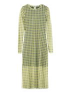 Baum und Pferdgarten Jolanda Printed Tulle Dress - Yellow