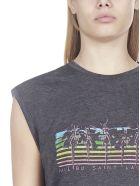 Saint Laurent Short Sleeve T-Shirt - Grigio