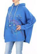 Mira Mikati Hand-embroidered Hoodie - BLUE (Blue)