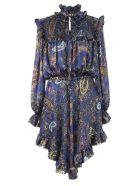 Etro Purple Silk Dress - Fantasia