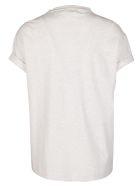 Brunello Cucinelli White Cotton T-shirt - AVENA