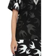 McQ Alexander McQueen Swallow Pannelled Dress - DK BLACK/MERCURY MEL