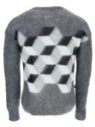 Moncler Fragment Knitwear - Grigio