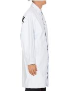 Palm Angels Trench Coat - White black