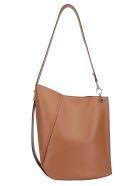 Lanvin Hook Shoulder Bag - Caramel