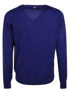 Moncler V-neck Sweater - Blue