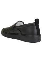 Bottega Veneta Slip On Sneakers - Black