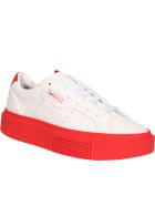 Adidas Originals Sleek Super Sneakers - White