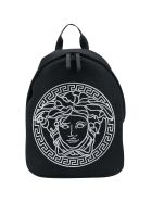 Young Versace Black Backpack - Nero