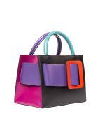 BOYY Bobby 23 Color Block Leather Handbag - Multicolor