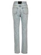 T by Alexander Wang High Waist Jeans - LIGHT BLUE