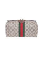 Gucci cosmetic holder - Beige