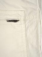Haider Ackermann Raw-hem Tapered Trousers - WHITE