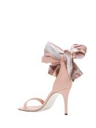 Pollini Kerchief Sandals - Rosa