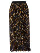 Alysi Printed Skirt - Black